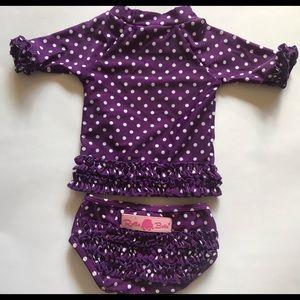 Ruffle Butts infant swim suits